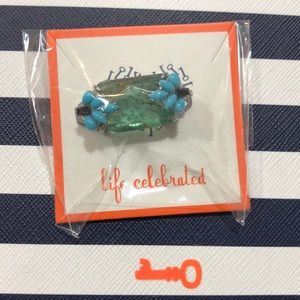 NWT. Keep Collective Aqua Reef  Charm